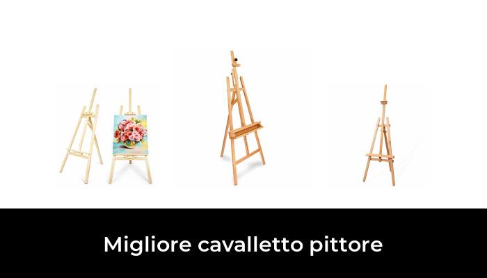 WANWE 10 Set Display Cavalletto con Tela 8X8 Cm Numeri Tavolo da Sposa Pittura Hobby Pittura Artigianato DIY Disegno Tavolino Cavalletto Regalo